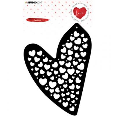 StudioLight Filled With Love Stencil Mask - Nr. 56