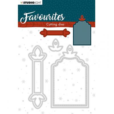 StudioLight Cutting & Embossing Die Winter's Favourites - Nr. 335