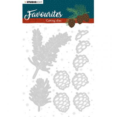 StudioLight Cutting & Embossing Die Winter's Favourites - Nr. 333