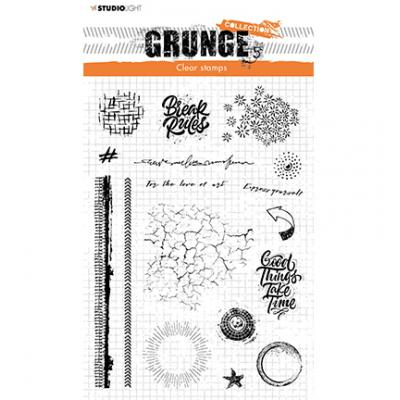 StudioLight Grunge Collection Clear Stamps - Nr. 502