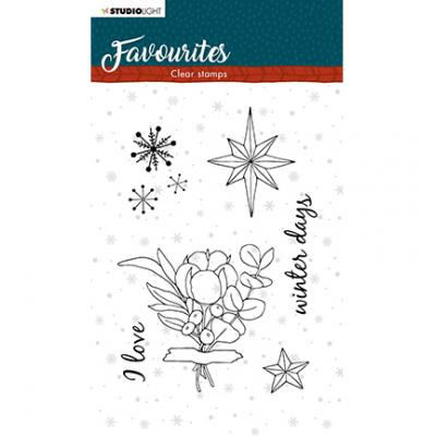 StudioLight Clear Stamps Winter's Favourites - Nr. 505