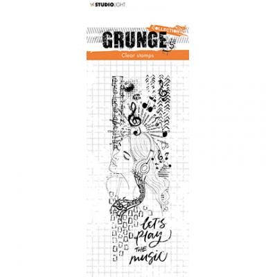 StudioLight Grunge Collection Clear Stamp - Nr. 498