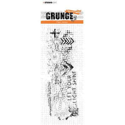 StudioLight Grunge Collection Clear Stamp - Nr. 494