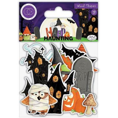 Craft Consortium Happy Haunting - Wooden Shapes
