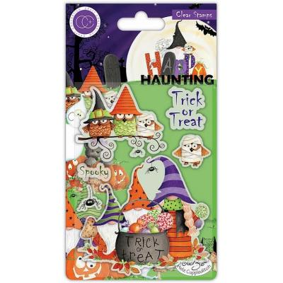 Craft Consortium Happy Haunting Clear Stamps - Trick or Treat