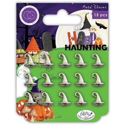 Craft Consortium Happy Haunting Charms - Witches Hat