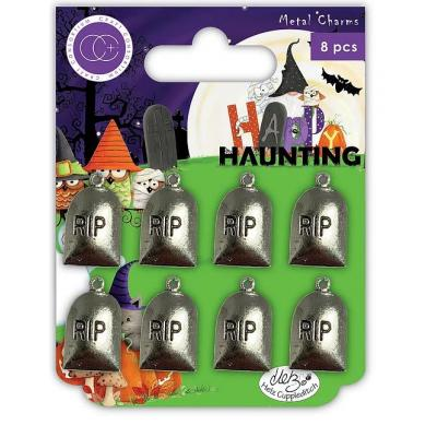 Craft Consortium Happy Haunting Charms - Graves