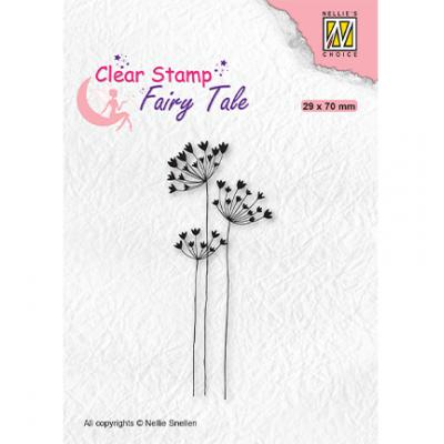 Nellie's Choice Clear Stamp - Fairy Tale Umbellifers