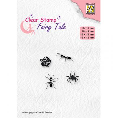 Nellie's Choice Clear Stamps - Fairy Tale Insects