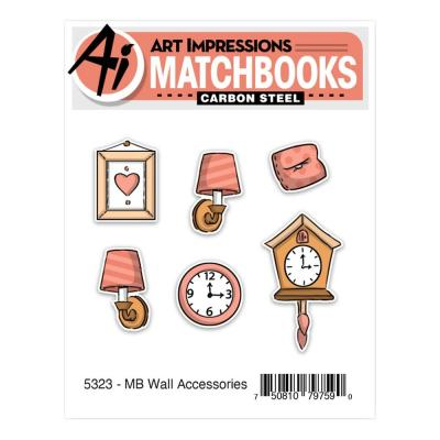 Art Impressions Matchbooks Stamp & Die Set - Wall Accessories