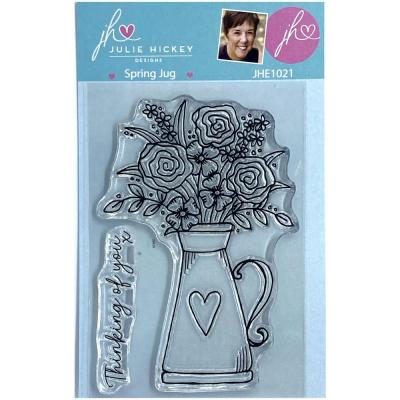 Sweet Huni Designs Julie Hickey Designs Clear Stamps - Spring Jug