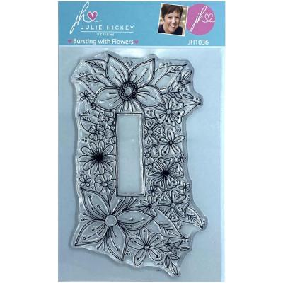 Sweet Huni Designs Julie Hickey Designs Clear Stamp - Bursting With Flowers
