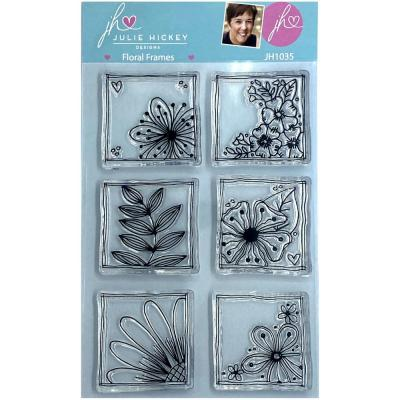 Sweet Huni Designs Julie Hickey Designs Clear Stamps - Floral Frames