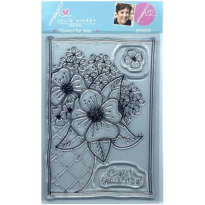Sweet Huni Designs Julie Hickey Designs Clear Stamps - Flowers For Jean
