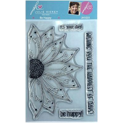 Sweet Huni Designs Julie Hickey Designs Clear Stamps - Be Happy
