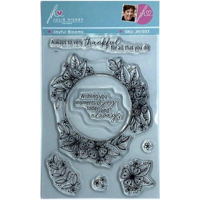 Sweet Huni Designs Julie Hickey Designs Clear Stamps - Joyful Blooms