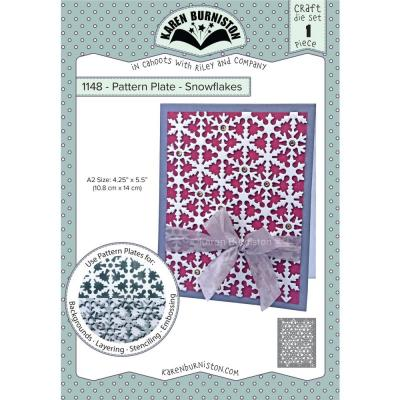 Karen Burniston Pattern Plate Die - Snowflake