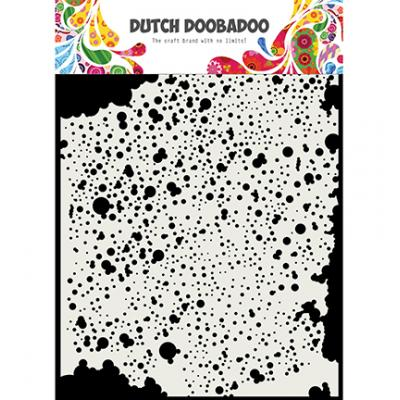 Dutch DooBaDoo Mask Art Stencil - Shots