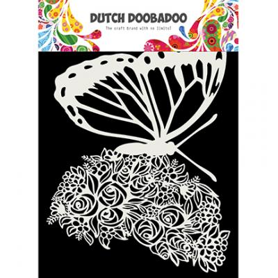 Dutch DooBaDoo Mask Art Stencil - Butterfly