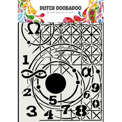 Dutch DooBaDoo Mask Art Stencil - Meetkunde