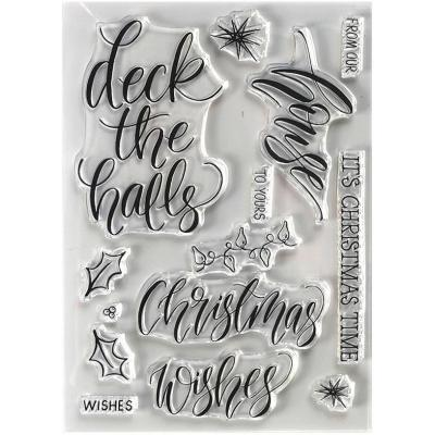 Elizabeth Crafts Clear Stamps - House