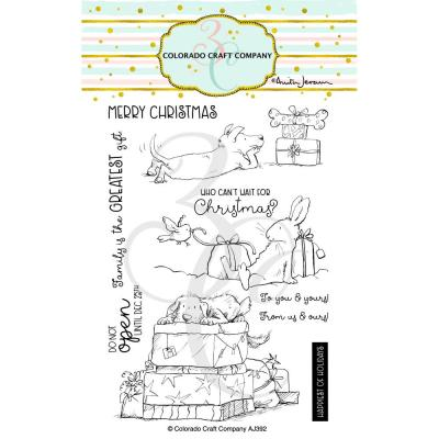 Colorado Craft Company Clear Stamps - Christmas Presents