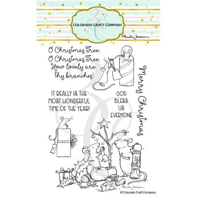 Colorado Craft Company Clear Stamps - Wonderful Time