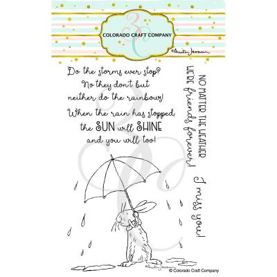 Colorado Craft Company Clear Stamps - All Weather Friends