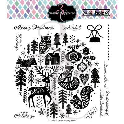 Colorado Craft Company Clear Stamps - Nordic Ornament