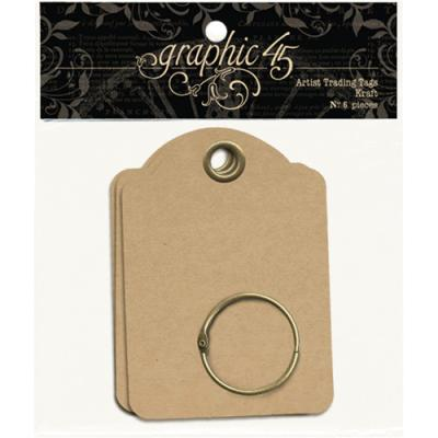 Graphic 45 - Artist Trading Tags Kraft