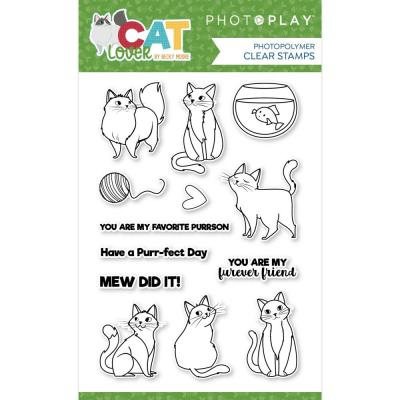 PhotoPlay Cat Lover Clear Stamps - Cat Lover