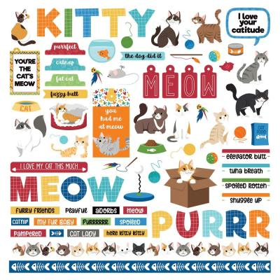 PhotoPlay Cat Lover Sticker - Elements