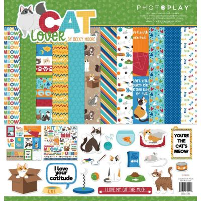 PhotoPlay Cat Lover Designpapier - Collection Pack