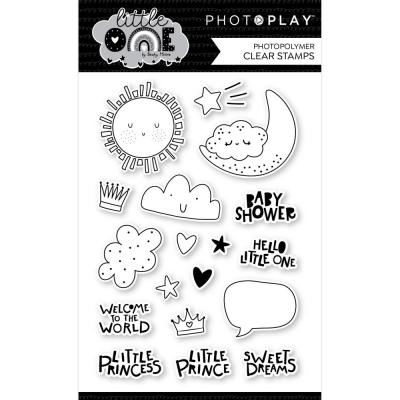 PhotoPlay Little One Clear Stamps - Icons