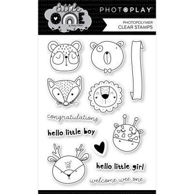 PhotoPlay Little One Clear Stamps - Animals