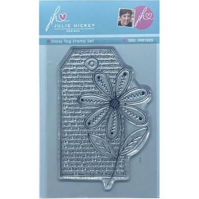 Sweet Huni Designs Julie Hickey Designs Clear Stamp - Daisy Tag