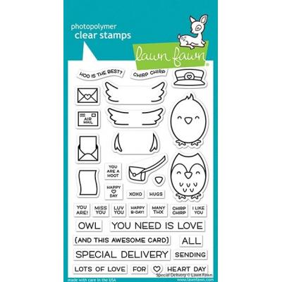 Lawn Fawn Clear Stamps - Special Delivery