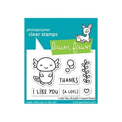 Lawn Fawn Clear Stamps - I Like you (A Lot)