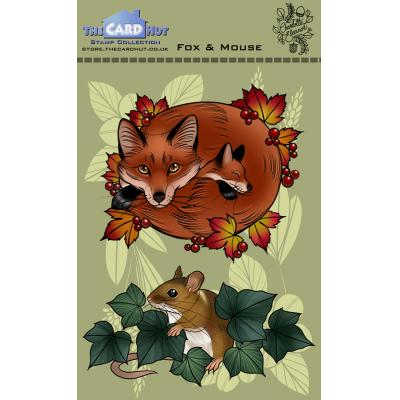 The Card Hut Clear Stamps - Fox And Mouse