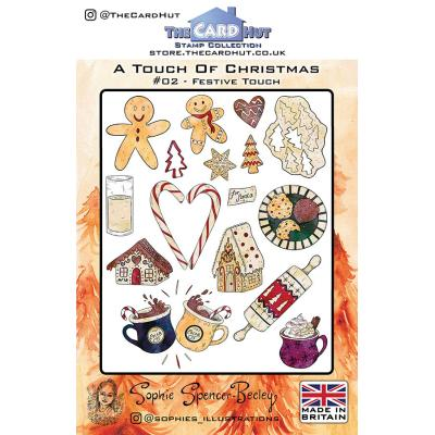 The Card Hut Clear Stamps - Festive Touch