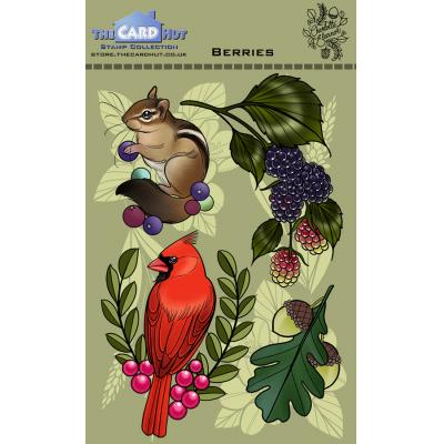 The Card Hut Clear Stamps - Berries