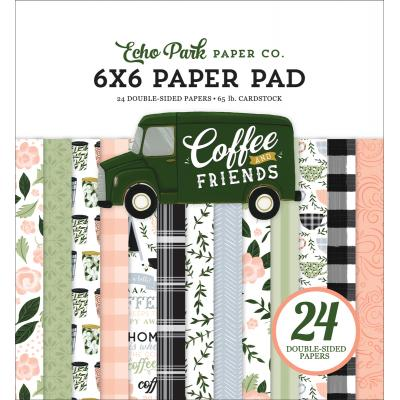 Echo Park Coffee & Friends Designpapier  - Paper Pad
