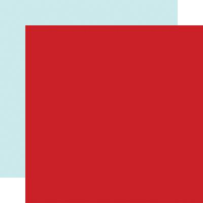 Echo Park Magical Birthday Boy Cardstock - Red/Light Blue