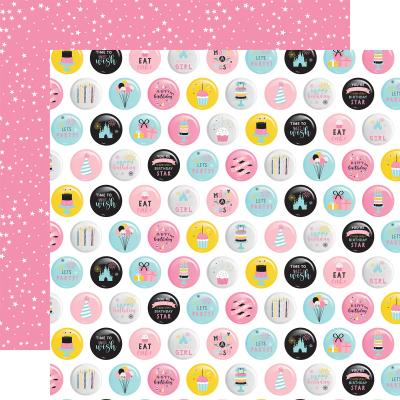 Echo Park Magical Birthday Girl Designpapier - Eat Cake