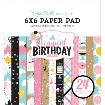 Echo Park Magical Birthday Girl Designpapier - Paper Pad