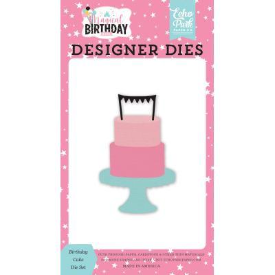 Echo Park Magical Birthday Girl Die Set - Birthday Cake