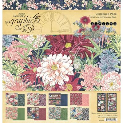 Graphic 45 Blossom Designpapier - Collection Pack