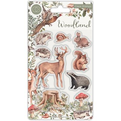 Craft Consortium Woodland Clear Stamps - Animals