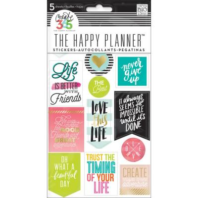 me & my BIG ideas The Happy Planner Sticker - Life Quotes