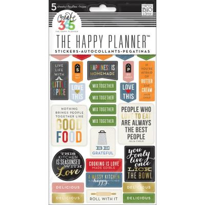 me & my BIG ideas The Happy Planner Sticker - Good Food